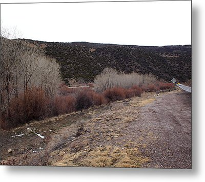 New Mexico Plein Air Study Metal Print
