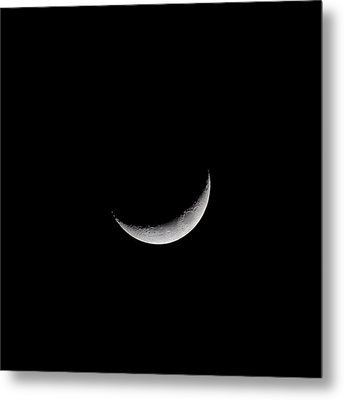 New Moon Metal Print by CP Cheah