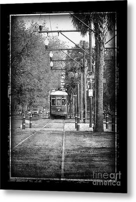 New Orleans Streetcar Metal Print by Jeanne  Woods