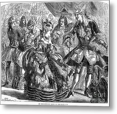 New Years Eve Ball, 1866 Metal Print by Granger