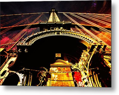 New York City Architecture Metal Print by Vivienne Gucwa