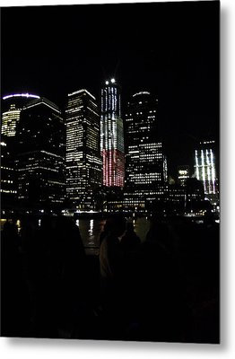 New York City Freedom Tower Metal Print by Paul Plaine
