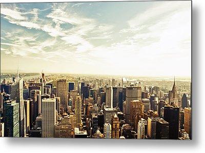 New York City Metal Print by Vivienne Gucwa