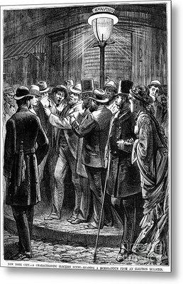 New York: Election, 1876 Metal Print by Granger
