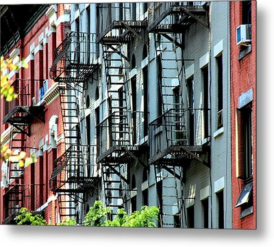 New York Metal Print by Luiz Felipe Castro