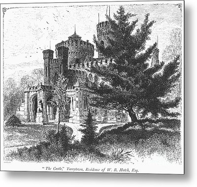 New York State: Castle Metal Print by Granger