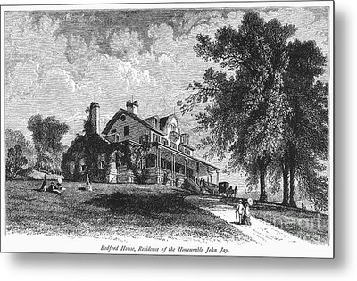 New York State: Mansion Metal Print by Granger