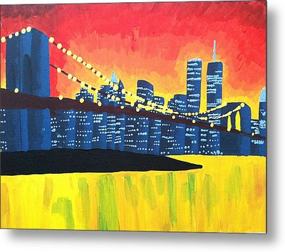 New York State Of Mind Metal Print by Tiffany King