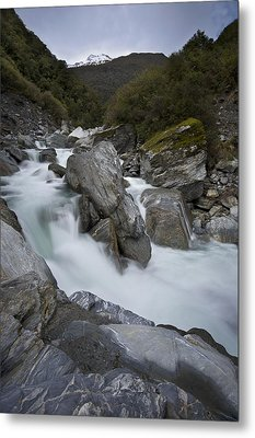 New Zealand Landscape Metal Print by Ng Hock How