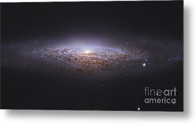 Ngc 2683, Unbarred Spiral Galaxy Metal Print by Robert Gendler