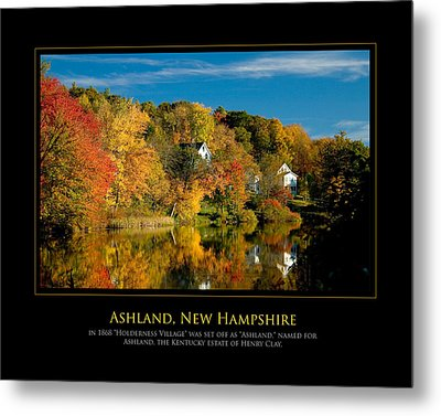 Nh Foilage Metal Print by Jim McDonald Photography