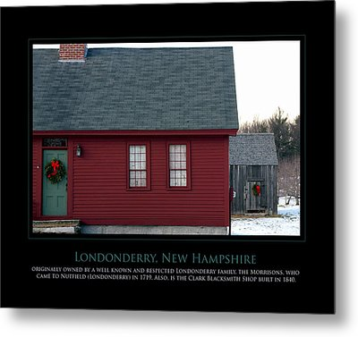 Nh Old Homes Metal Print by Jim McDonald Photography