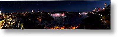 Niagara Falls Panoramic Metal Print