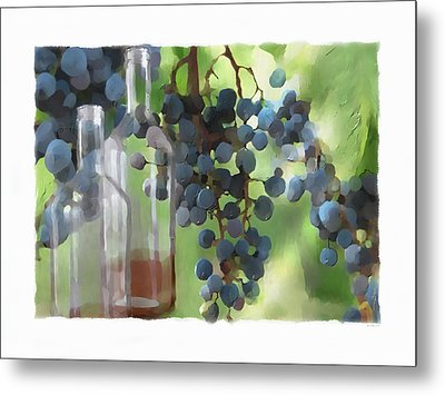 Niagara Peninsula Wine Country Metal Print by Bob Salo