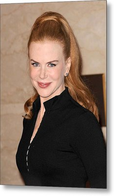 Nicole Kidman At In-store Appearance Metal Print by Everett