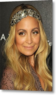 Nicole Richie At A Public Appearance Metal Print by Everett
