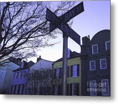 Metal Print featuring the photograph Night In Savannah by Andrea Anderegg