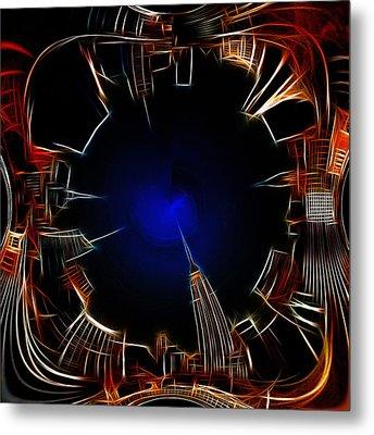 Night View Metal Print by Steve K