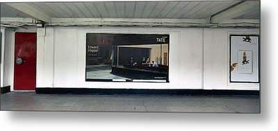 Nighthawks At Earls Court Metal Print