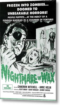Nightmare In Wax, Cameron Mitchell Metal Print