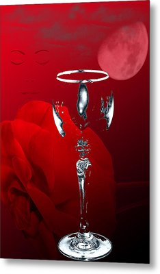Nights Of Wine And Roses  Metal Print