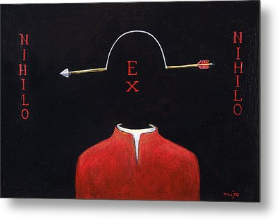 Nihilo Ex Nihilo Metal Print by Canis Canon