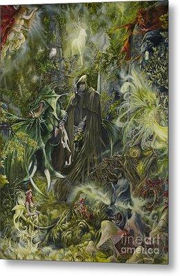 Nine Dragons Gate Metal Print by Shawn Orne