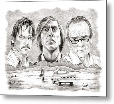 No Country For Old Men Metal Print by Jamie Warkentin
