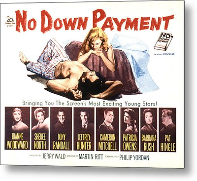 No Down Payment, Joanne Woodward Metal Print