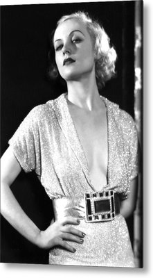 No Man Of Her Own, Carole Lombard, 1932 Metal Print by Everett