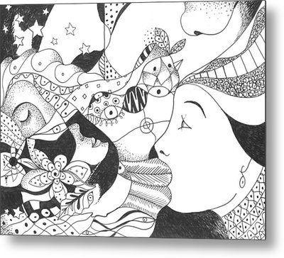 No Ordinary Dream Metal Print by Helena Tiainen