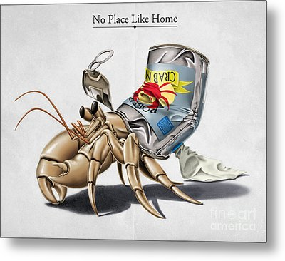 No Place Like Home Metal Print by Rob Snow