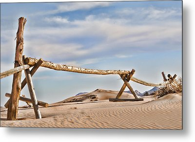 No Trespassing Metal Print by Heather Applegate