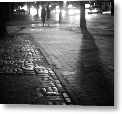 Nocturne - Night - New York City Metal Print