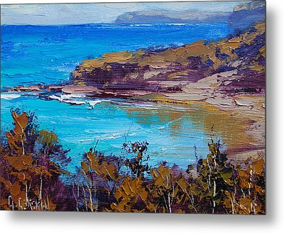 Norah Head Central Coast Nsw Metal Print by Graham Gercken