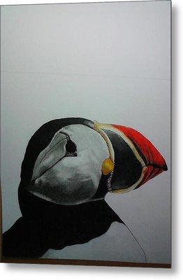 Nordic Birds Metal Print