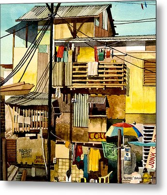 North Bay Squatters Metal Print by Andre Salvador