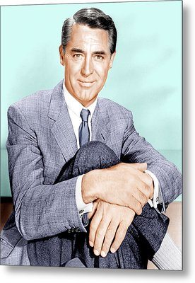 North By Northwest, Cary Grant, 1959 Metal Print by Everett