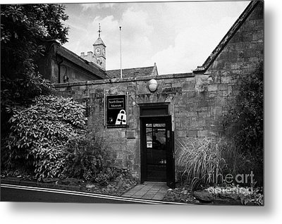 North Down Museum And Heritage Centre In Bangor Castle Now The Town Hall Metal Print by Joe Fox