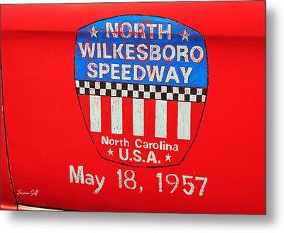 North Wilkesboro Speedway Metal Print by Suzanne Gaff