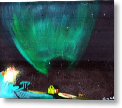Norther Lights 4 Metal Print