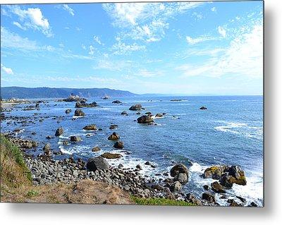 Northern California Coast3 Metal Print by Zawhaus Photography