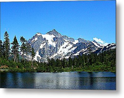 Northern Cascades Metal Print
