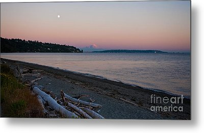 Northwest Evening Metal Print