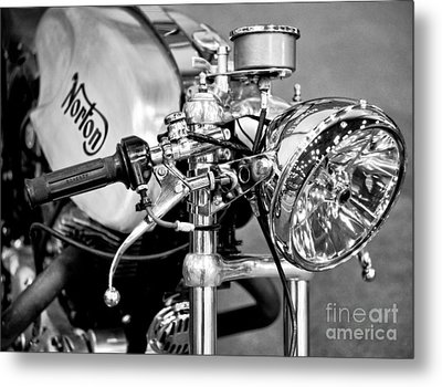 Norton Dominator Metal Print