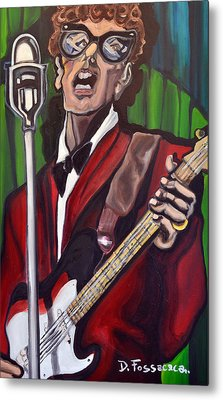 Not Fade Away-buddy Holly Metal Print