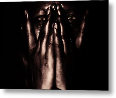 Not My Dark Soul.. Metal Print by Stelios Kleanthous