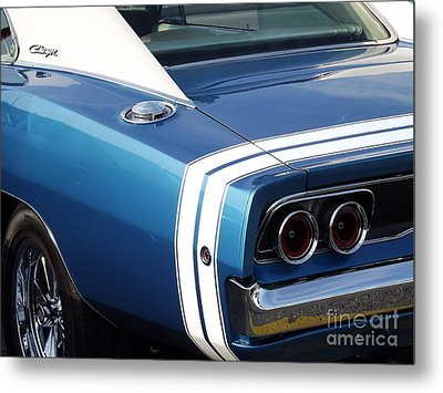 Nothing But The Tail Lights Metal Print by Chad Thompson