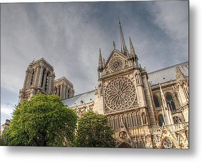 Notre Dame De Paris Metal Print by Jennifer Ancker