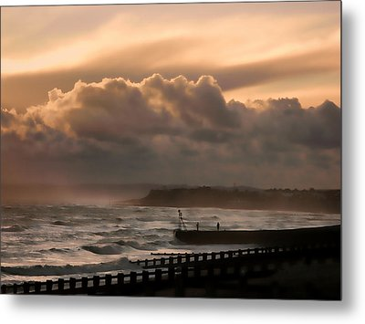 November Storm Metal Print by Sharon Lisa Clarke